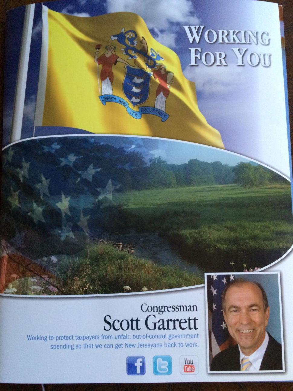 """CD 5 Democratic candidate Cho calls Garrett constituent mailer """"campaign propaganda"""", calls for taxpayer reimbursement"""