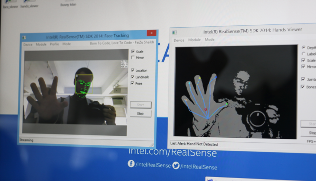 3D Cameras can track and map facial features and hand gestures precisely and instantly. (Photo by, of Jack Smith IV)