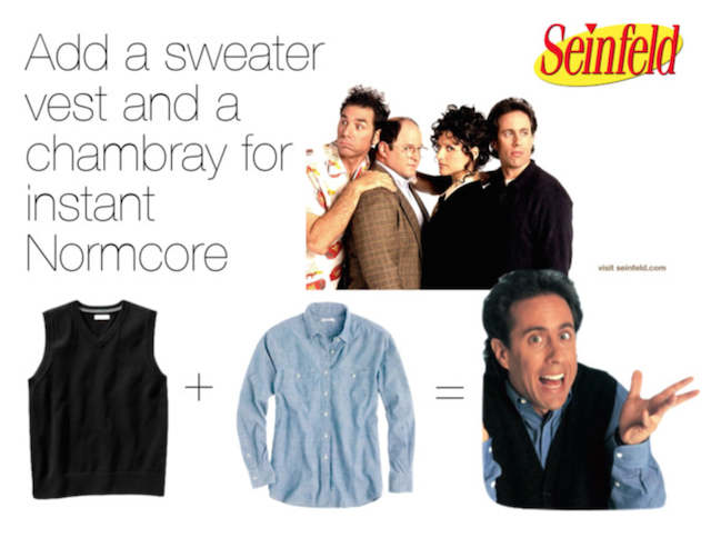What Is the Deal With Normcore? Dress Like Your Favorite 'Seinfeld' Character