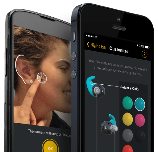 3D-Printed Earbuds Perfectly Fit Your Weirdly Shaped Earholes