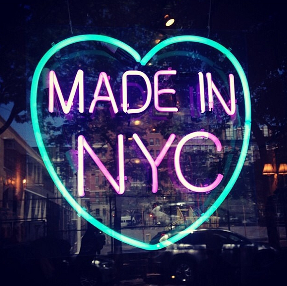The Instafame of Neon New York City