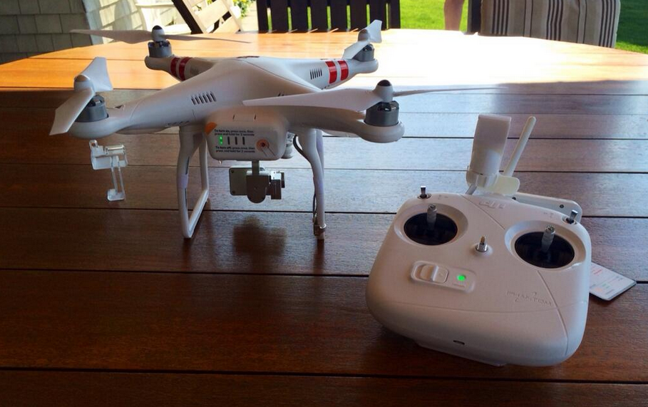 Mia Farrow and Her Son Hung Out With a Drone This Afternoon