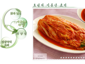 Behold, an In inexhaustible source of kimchi recipes for North Korean housewives. (http://www.cooks.org.kp/)