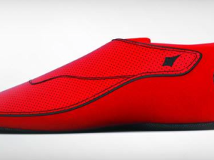 They're not the coolest looking shoes, but they vibrate to give you directions. (Facebook)
