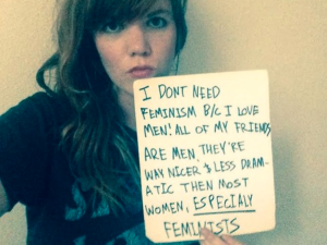A screenshot from the Women Against Feminism website. (Photo via Creative Commons)