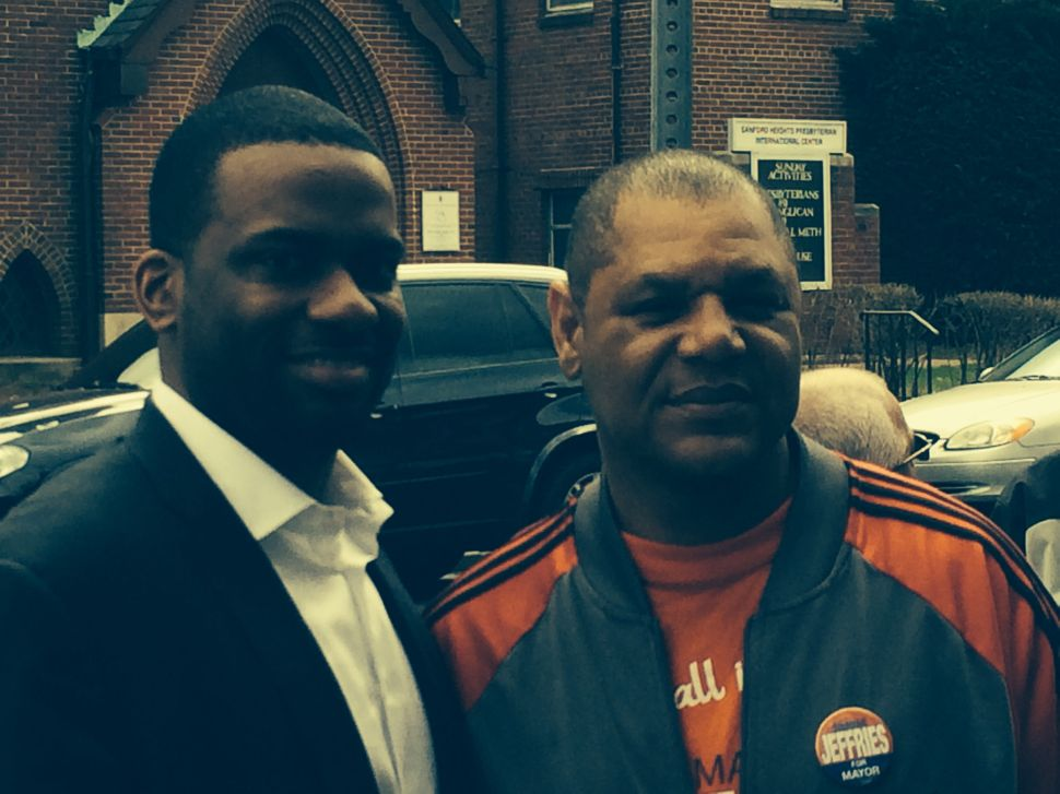 Newark mayor's race: Jeffries rallies troops in West Ward after tough week