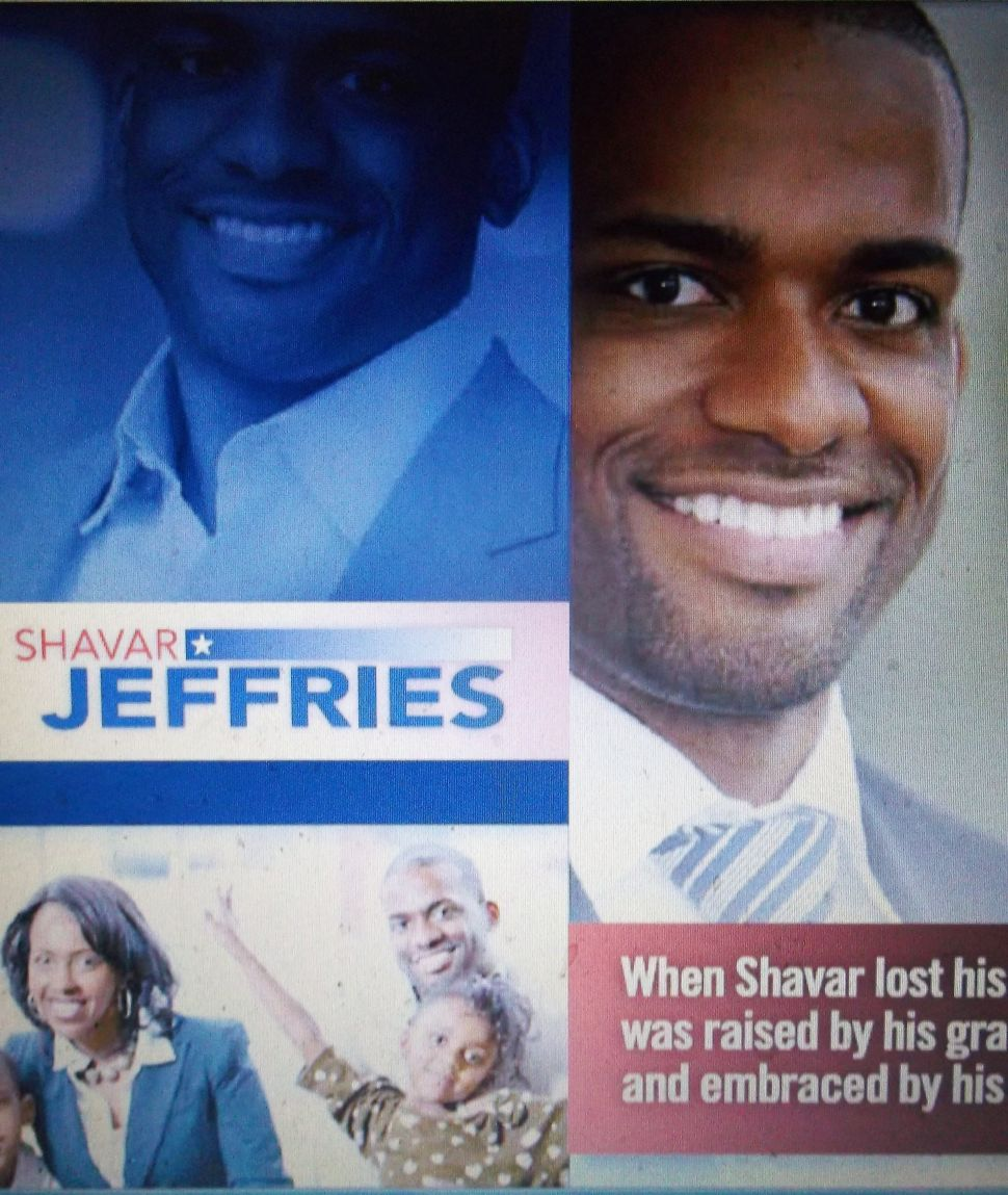 Mayoral hopeful Jeffries underscores Newark, family in introductory lit piece