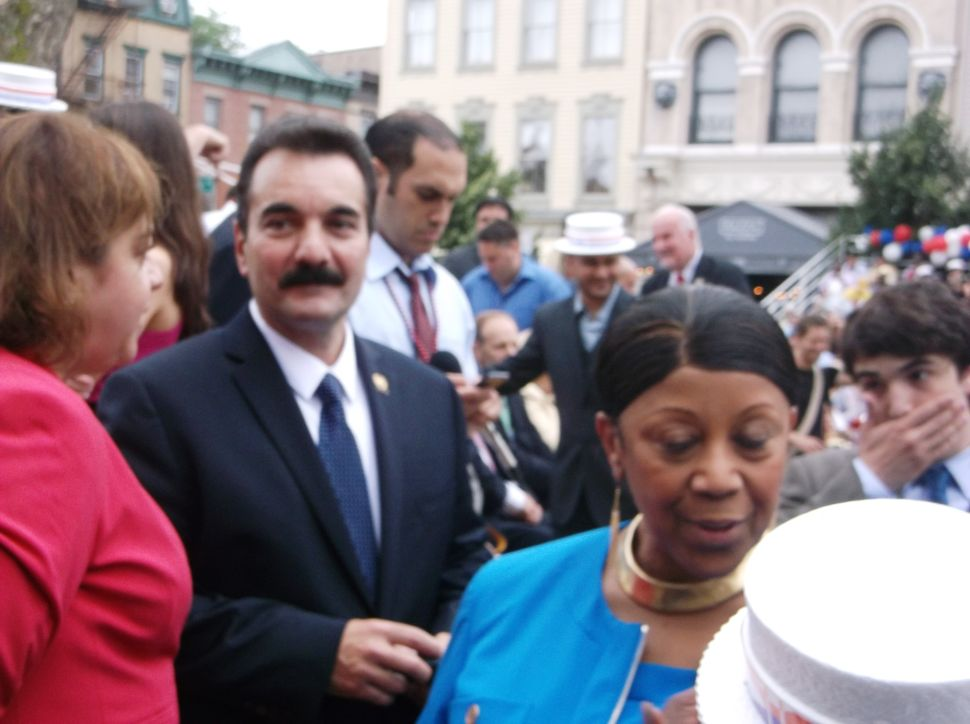 The swearing-in of Jersey City Mayor Steve Fulop