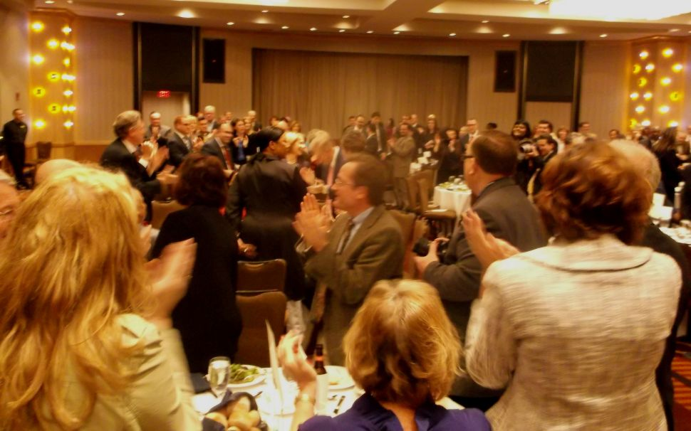 At Jefferson Jackson Dinner, Buono targets 'trickle down' Christie; plus full remarks
