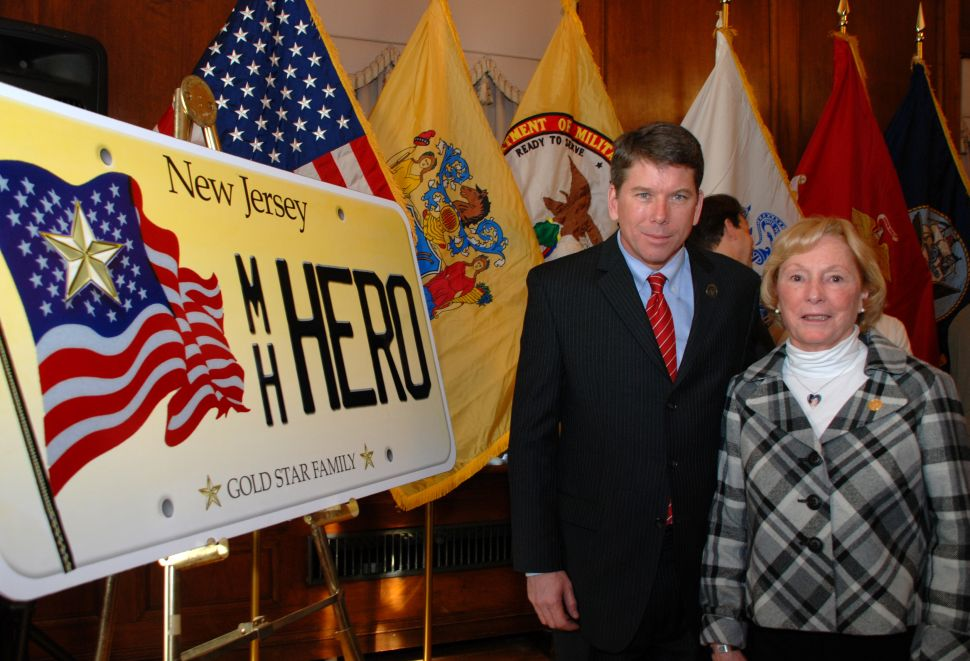 State license plates to honor fallen veterans
