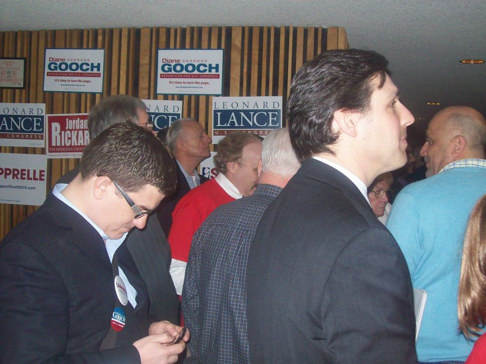 Middlesex GOP Convention packed