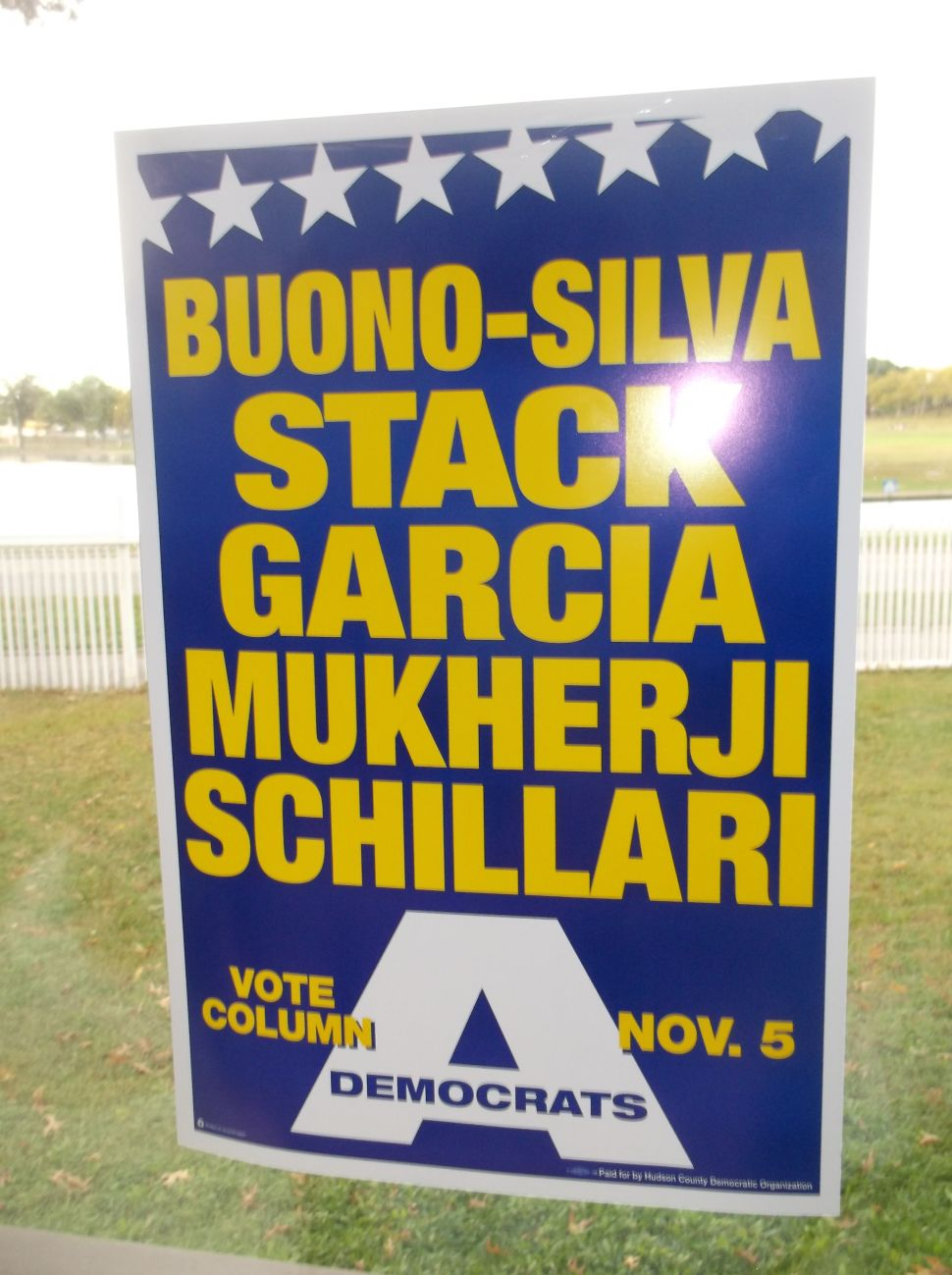 The Buono-Stack ticket