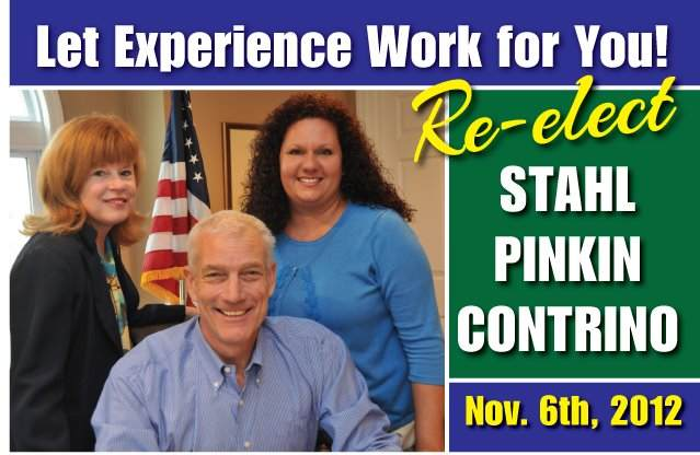 Pinkin wins Dems' nod for LD 18 Assembly seat; to run with Barnes and Diegnan