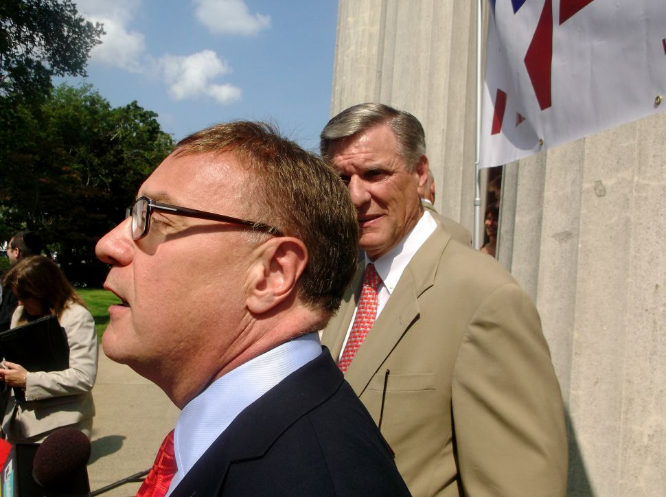 Lonegan bashes Booker's 'record of miserable failure'