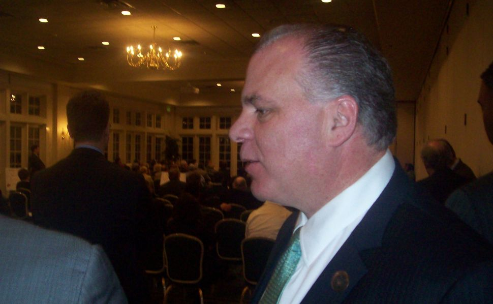 Armed with OLS figures, Sweeney and Buono assail Christie's budget priorities