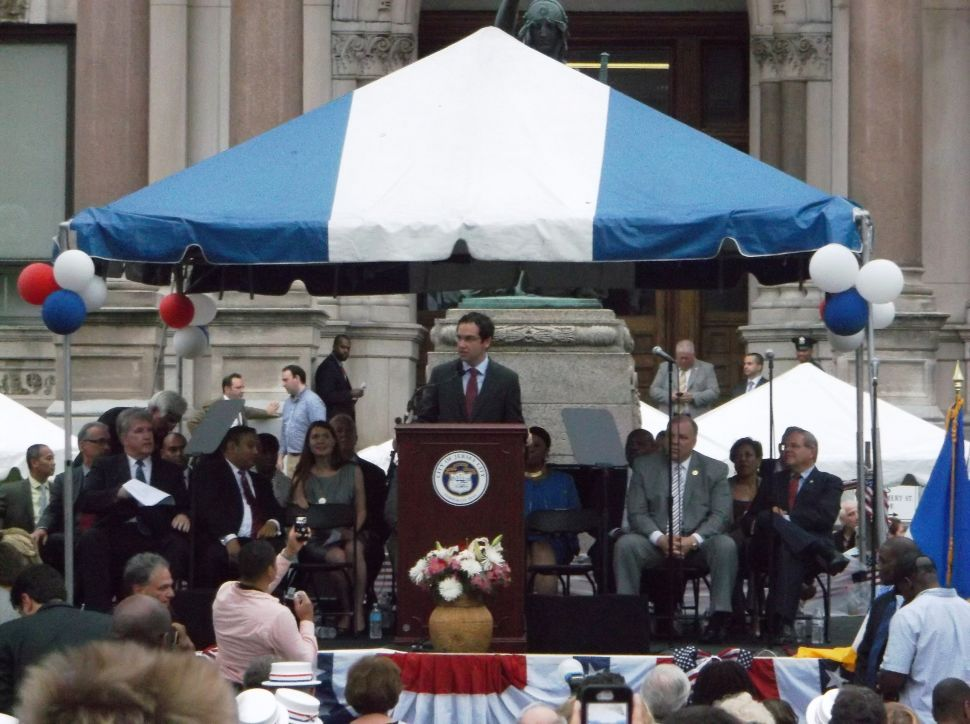 Mayor Steven Fulop's remarks as prepared for delivery at his swearing-in ceremony