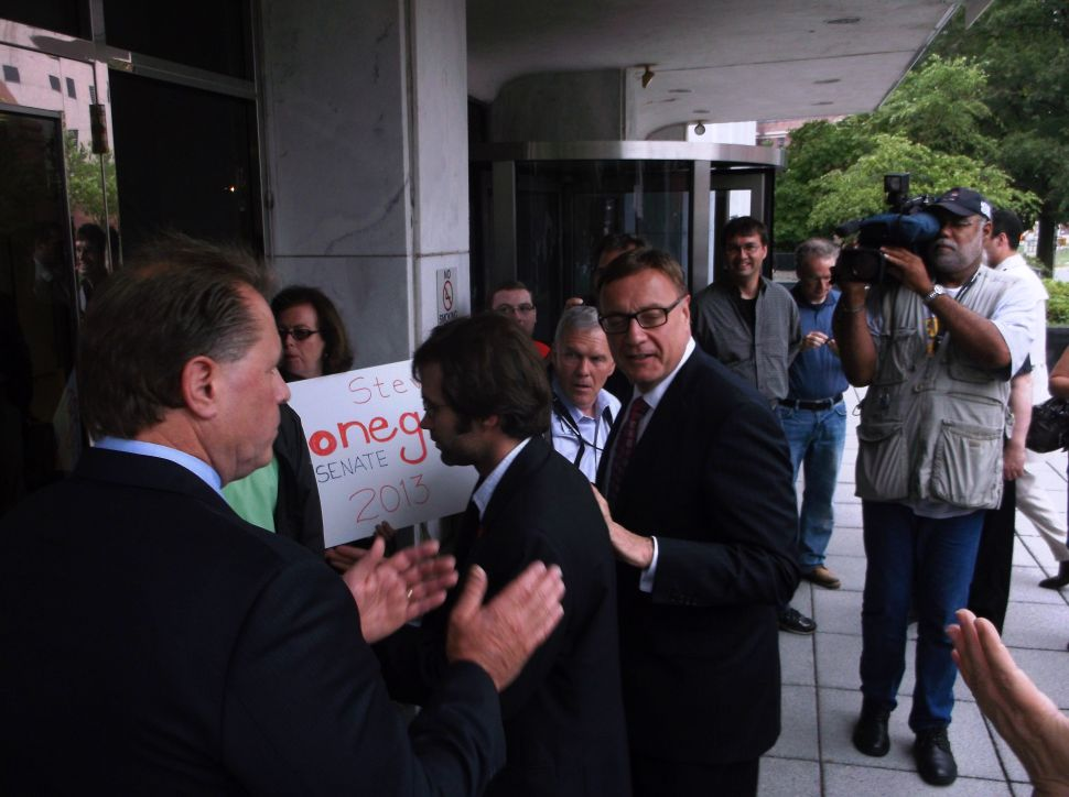 Lonegan wants voters to judge the judges, says 'this whole global warming thing is a sham'