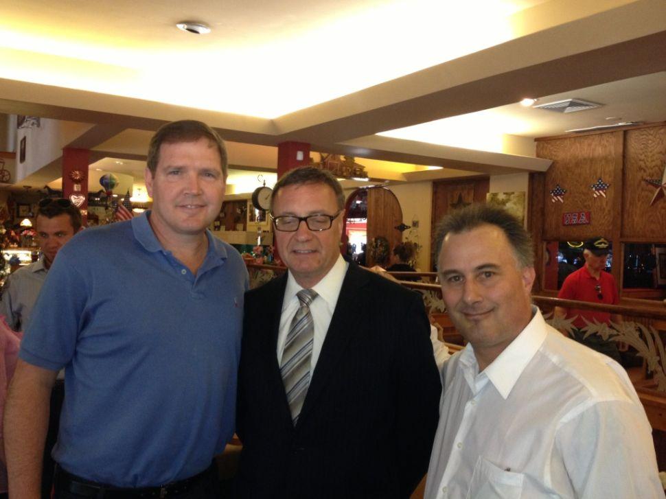 Lonegan lands endorsement of Hunterdon GOP chair