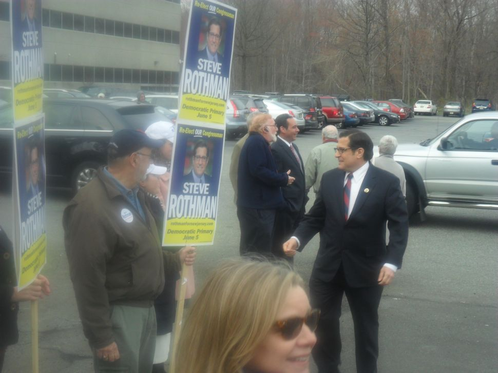 Goldstein personally supports Rothman in CD 9