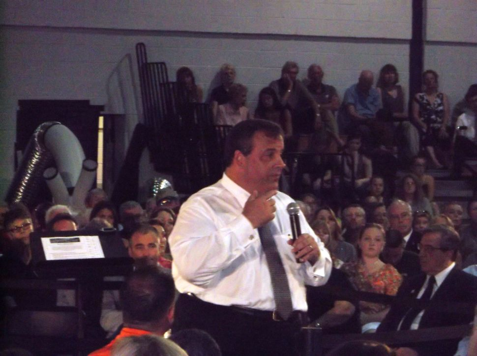Christie goes to Sussex and ends up engaging – Democrats