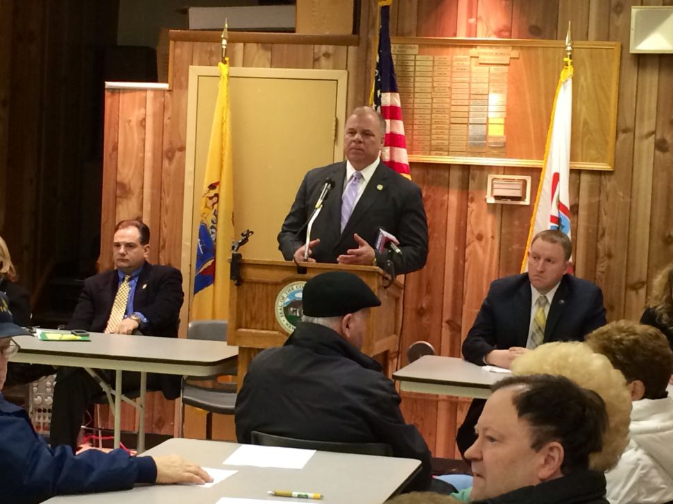 Sweeney's Sandy Bill of Rights tour continues in North Jersey