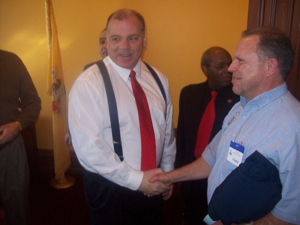 Senate picks Sweeney as senate prez by 36-0 vote