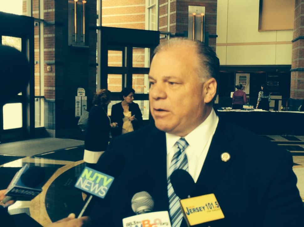 Sweeney says he is not involved in Newark mayoral race