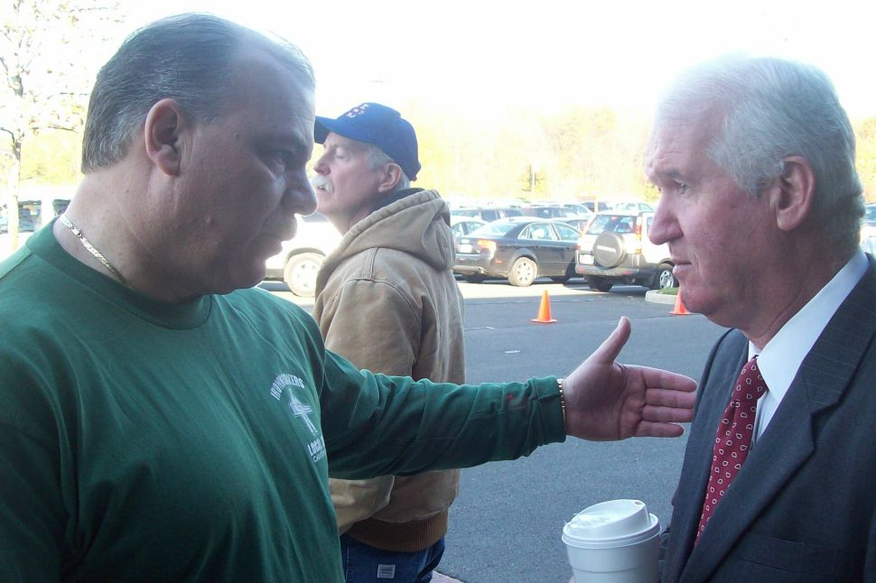 Sweeney: 'If someone punched you in the mouth, would you vote for him?'