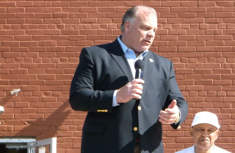 Sweeney: Dems need to decide soon on a Christie opponent, says he still is weighing possible run