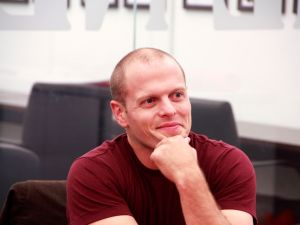 Author and entrepreneur Tim Ferriss. (Photo by The New York Observer)