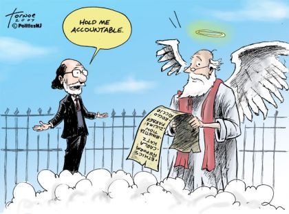 Hold me accountable: will Corzine fire Kramer?