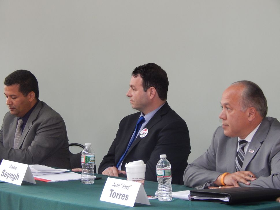 Flare-up between Torres and Rodriguez at Paterson mayoral forum