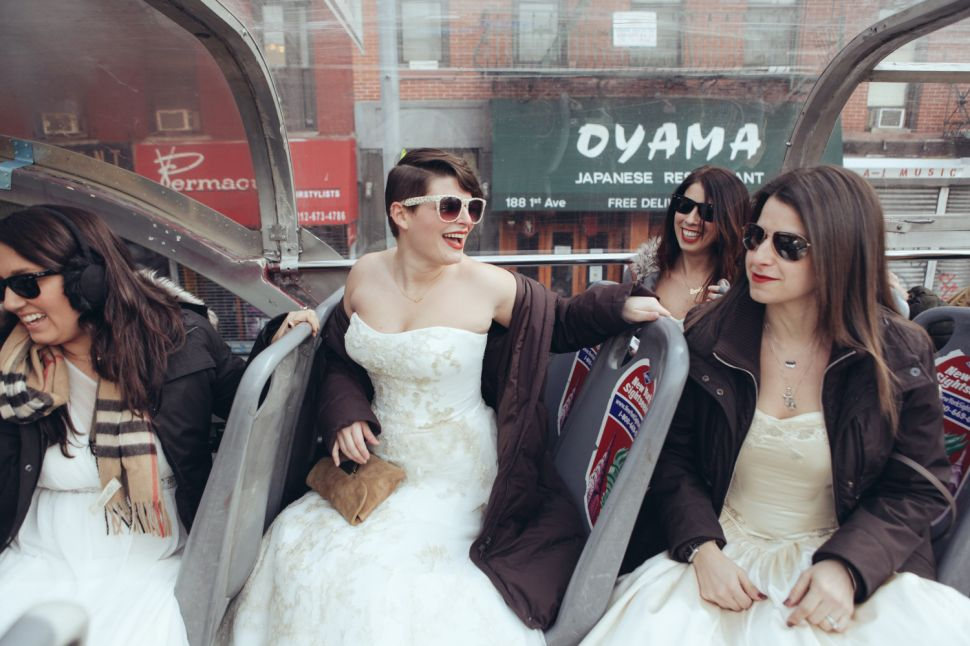 When Once Isn't Enough: NYC Brides Bring Their Dresses Back to Life