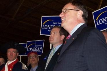 Lonegan on Chiesa appointment; and recent Tea Party efforts: 'I wasn't running'