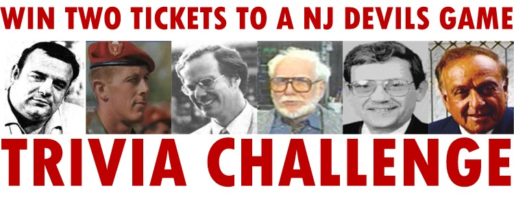 Trivia Challenge: Win Two Tickets to a NJ Devils game