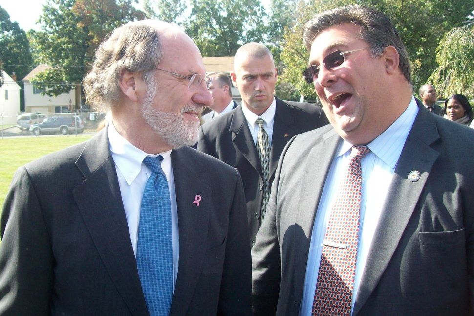 Corzine says he doesn't want to debate APP editorial board