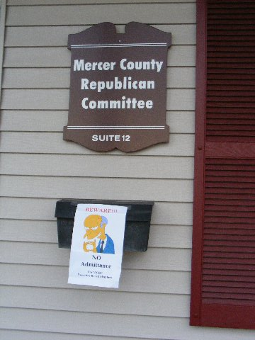 Breaking: Mercer GOP Chairman resigns