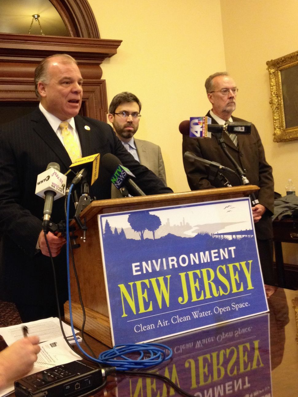 Sweeney, others urge Christie, BPU to stop stalling on wind energy