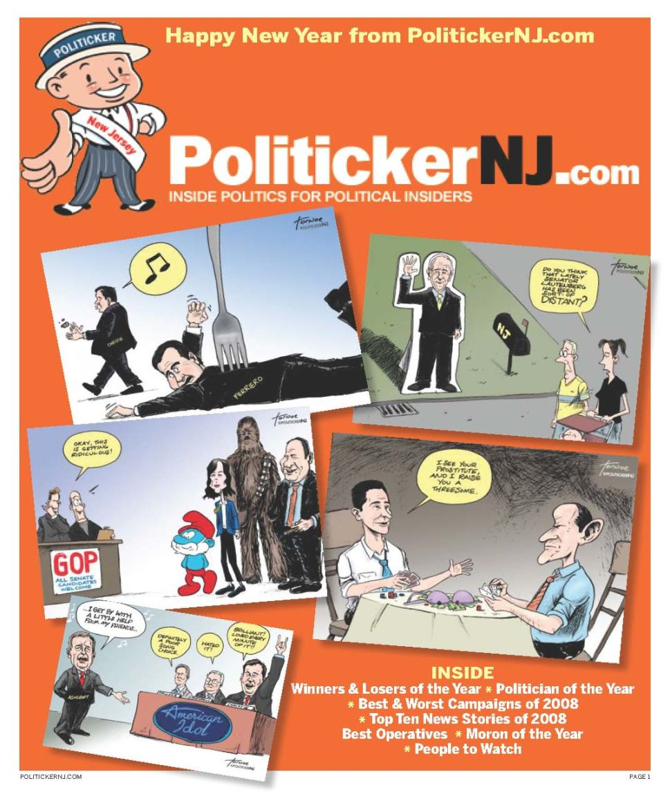 PolitickerNJ.com's The Year in Review 2008