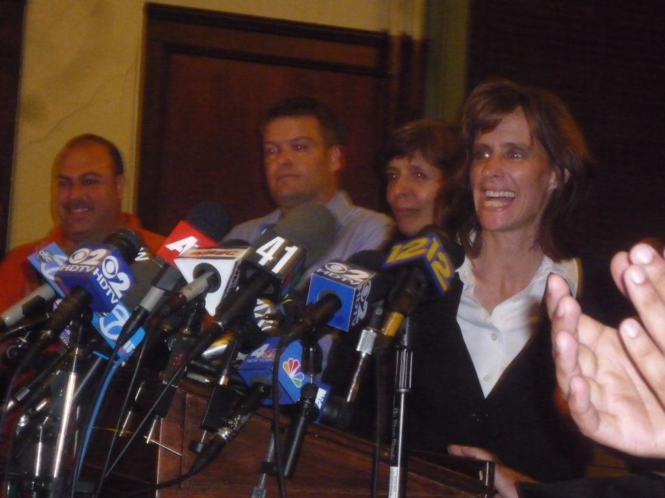 Zimmer sworn into office in Hoboken