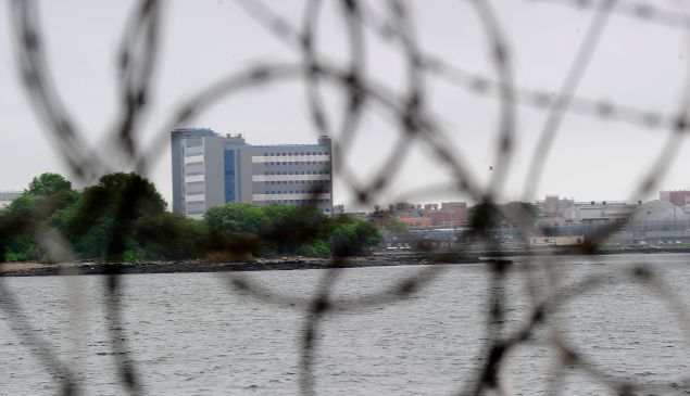Rikers Island. (Photo: EMMANUEL DUNAND/AFP/Getty Images)