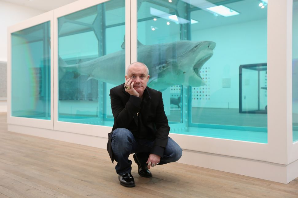Morning Links: Damien Hirst Town Edition