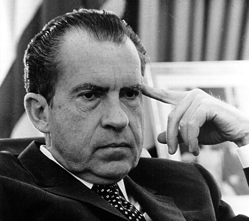 Nixon's Sad, Strange Exit, 40 Years Ago
