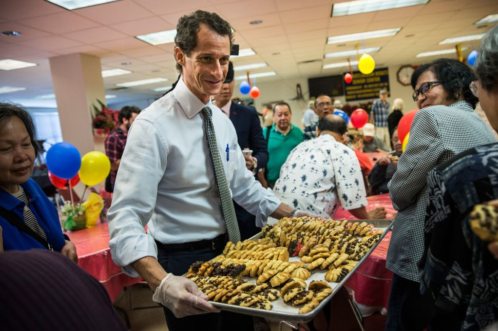 Is Anthony Weiner Going Culinary?