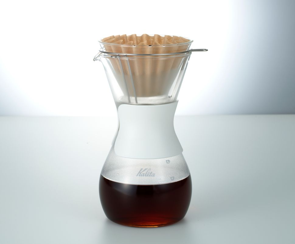 Free Yourself From the Starbucks Slog with the Kalita Wave Coffee Brewer
