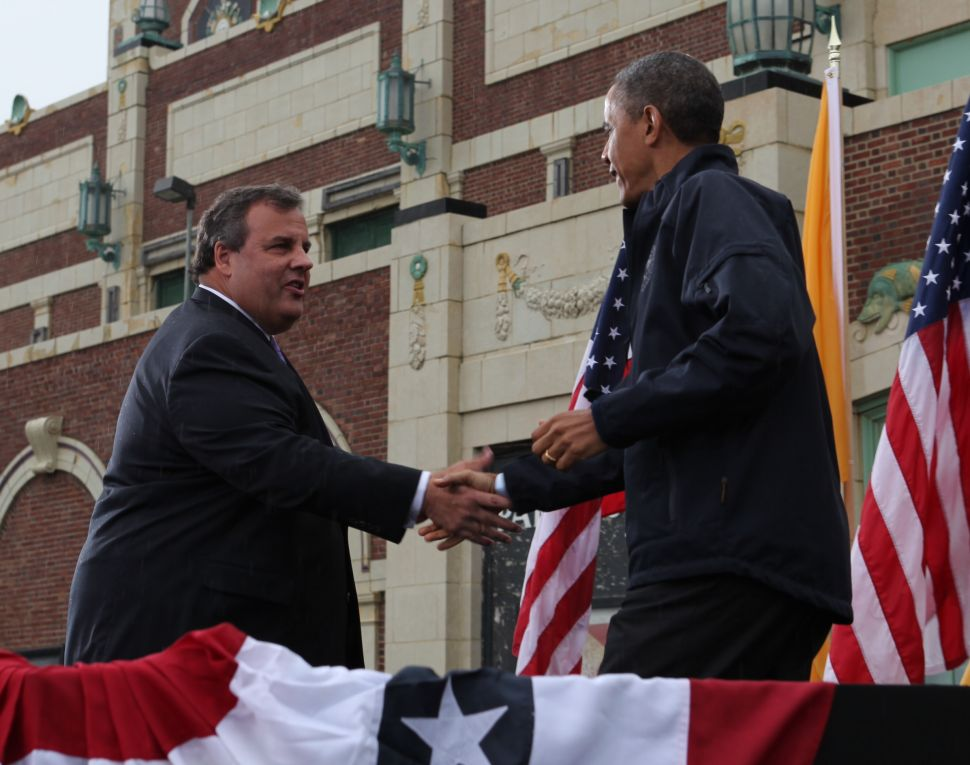 Christie: Obama deserves 'some credit' with Sandy recovery