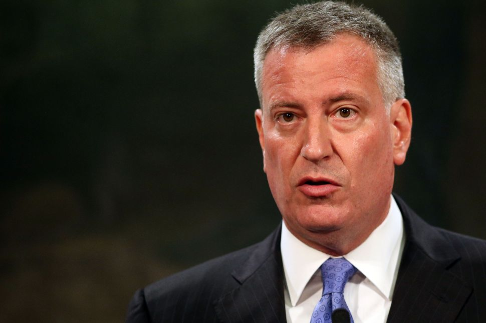Mayor de Blasio's Failed Promise of Transparency