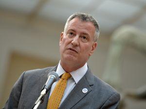 Mayor Bill de Blasio. (Photo: ANDREAS SOLARO/AFP/Getty Images)