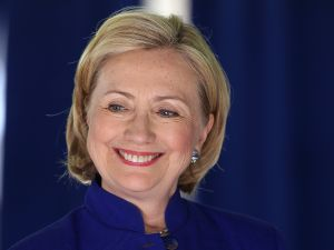 Hillary Clinton. (Photo by Justin Sullivan/Getty Images)