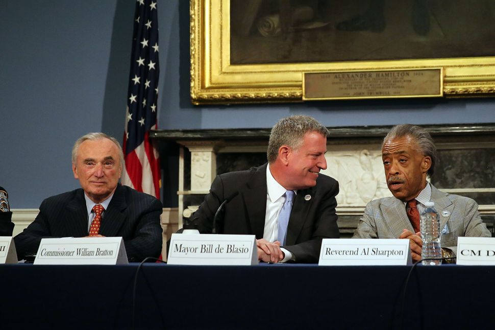 Amid Violence in Ferguson, de Blasio Calls For NYC Eric Garner March to Be Peaceful